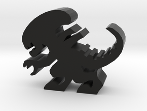 Stalker Alien Meeple in Black Natural Versatile Plastic