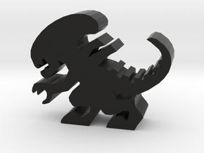 Stalker Alien Meeple in Black Natural Versatile Plastic