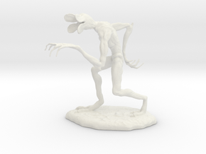 Stranger Things - Demogorgon in White Natural Versatile Plastic