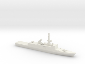 La Fayette-class frigate, 1/2400 in White Natural Versatile Plastic
