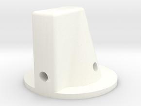 Main - Preset Knob 164 in White Processed Versatile Plastic