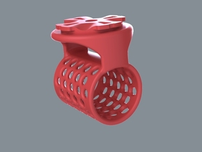 BarBone in Red Processed Versatile Plastic