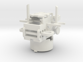 Thermal Detonator Chassis V2 in White Natural Versatile Plastic