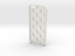 Iphone 6 Case in White Natural Versatile Plastic
