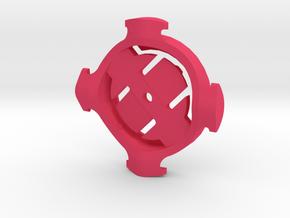 Garmin Quarter Turn Standard Mount in Pink Strong & Flexible Polished