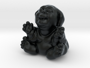 Fubby Baby One Inch Tall in Black Hi-Def Acrylate
