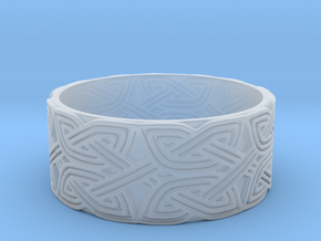 Croatian interlace male Ring (+2 armor) in Smoothest Fine Detail Plastic
