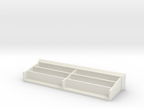 Miniature Liatorp Wall Shelf - IKEA in White Natural Versatile Plastic: 1:12