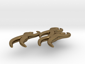 Dan Eldon's 'Dancing Figures' Pendant  in Natural Bronze