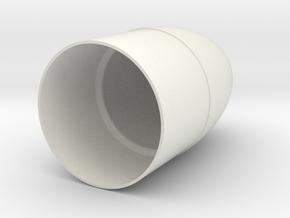BT-70 TARC Nose Cone (Elliptical) in White Natural Versatile Plastic