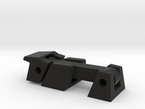 Universal RC Bonnet Fastener e.g. Jeep XJ  in Black Natural Versatile Plastic