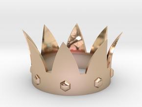 Crown in 14k Rose Gold