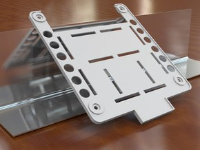 DJI Phantom 'Stubby' Custom FPV Undertray in White Strong & Flexible
