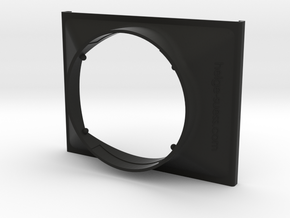 Filterholder for the Olympus Zuiko 7-14mm f4.0 WA in Black Natural Versatile Plastic