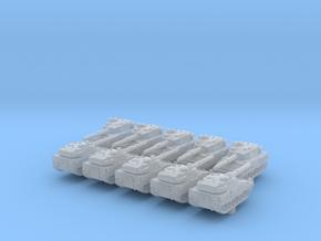 1/700 ASCOD Ulan LT105 Light Tank x10 in Smoothest Fine Detail Plastic