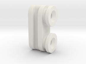 Ikea KVARTAL Slider (Male)  in White Natural Versatile Plastic