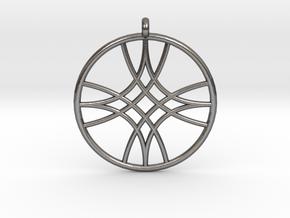 Polaris Pendant in Polished Nickel Steel