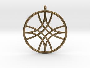 Polaris Pendant in Natural Bronze