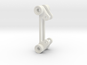 FC adapter • 20 to 30.5mm in White Natural Versatile Plastic