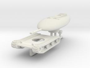 1/144 Chrysler TV-8 nuclear tank in White Natural Versatile Plastic