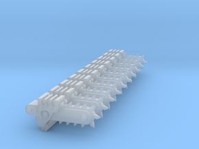 Chain Bayonet #3 in Smooth Fine Detail Plastic
