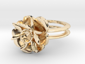 SMK BLOMST in 14K Yellow Gold: 8.5 / 58