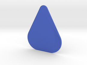 Plectrum Standard in Blue Processed Versatile Plastic
