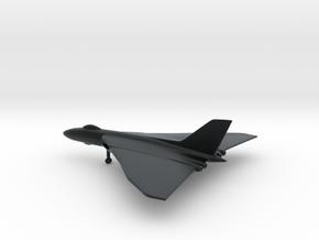 Avro Vulcan B1 in Black Hi-Def Acrylate: 1:350