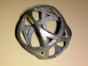Jewish Star Sphere in Stainless Steel