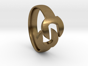 Wrench Ring  in Natural Bronze
