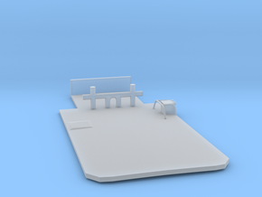 Main Deck Inlay 1/87 V54 fits Harbor Tug Boat in Smooth Fine Detail Plastic