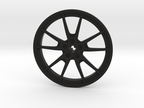 Racing Wheel Cover 14_56mm in Black Strong & Flexible