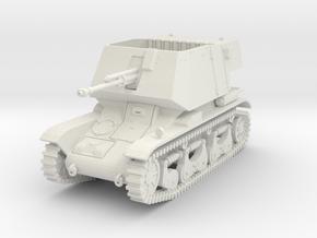 PV185A 4.7cm Pak(t) auf Pzkw 35R(f) (28mm) in White Natural Versatile Plastic