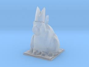Rabbit Bishop  in Smooth Fine Detail Plastic