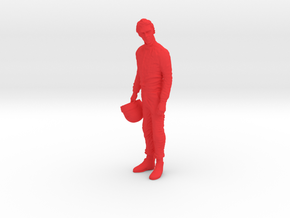 1/12 Formula Racer in Thought in Red Processed Versatile Plastic