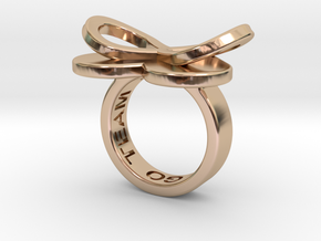 AMOUR in 14k rose gold plated  in 14k Rose Gold Plated: 5.5 / 50.25