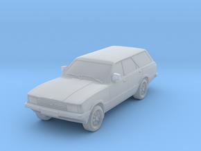 1-76 Ford Cortina Mk5 Estate Hollow Wheels Attache in Smooth Fine Detail Plastic