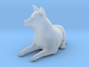 Ultra Tiny Dog Statue Sadie in Smooth Fine Detail Plastic
