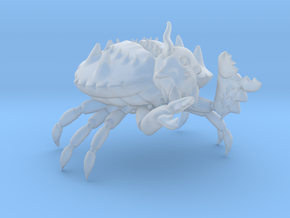 Demon Crab of Decay in Smooth Fine Detail Plastic