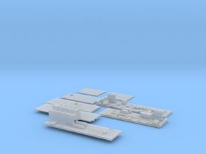 1:350 Scale Nimitz Class Hangar Bay 3 in Smooth Fine Detail Plastic