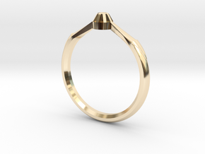 Emma's Lost Ring in 14K Yellow Gold