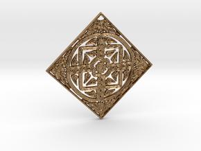 Croatian interlace pendant (+5 health regeneration in Natural Brass