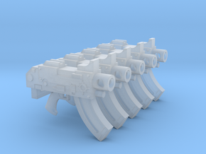 Space Magicians (Lo) Mk87 Thunderbolt Pistols in Smooth Fine Detail Plastic