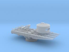 1/72 21in Quadruple Torpedo Tube v2 in Smooth Fine Detail Plastic