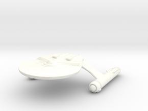 Anton Class Cruiser in White Processed Versatile Plastic