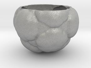 Fractal Flower Pot in Aluminum