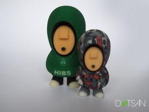 Hibs Hoodie in Full Color Sandstone