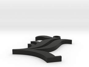 Collar L in Black Natural Versatile Plastic