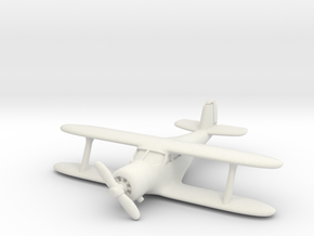 Beech UC-43 Traveler 1/200 in White Natural Versatile Plastic