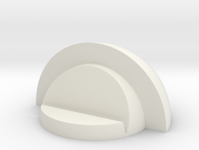 Pin Holder in White Natural Versatile Plastic